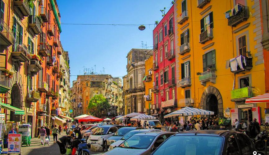Центр города Неаполя