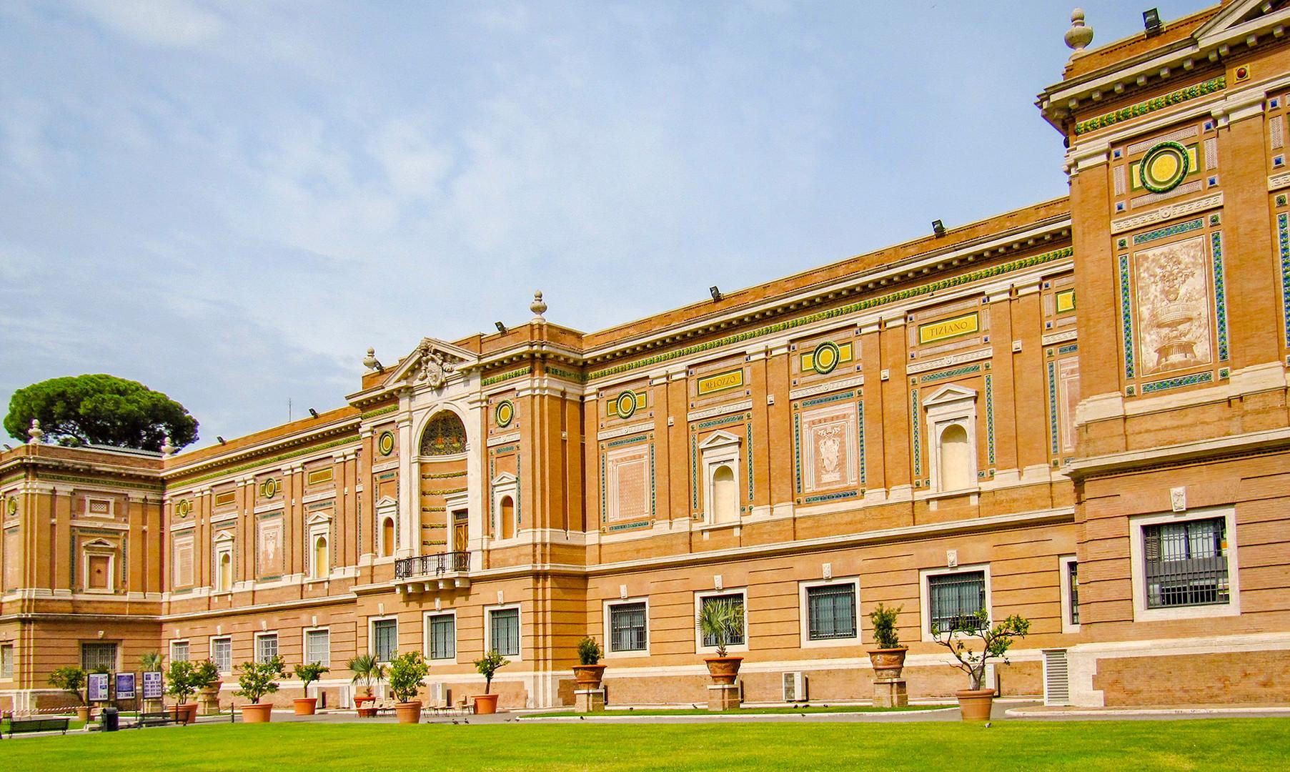 Пинакотека в музеях Ватикана