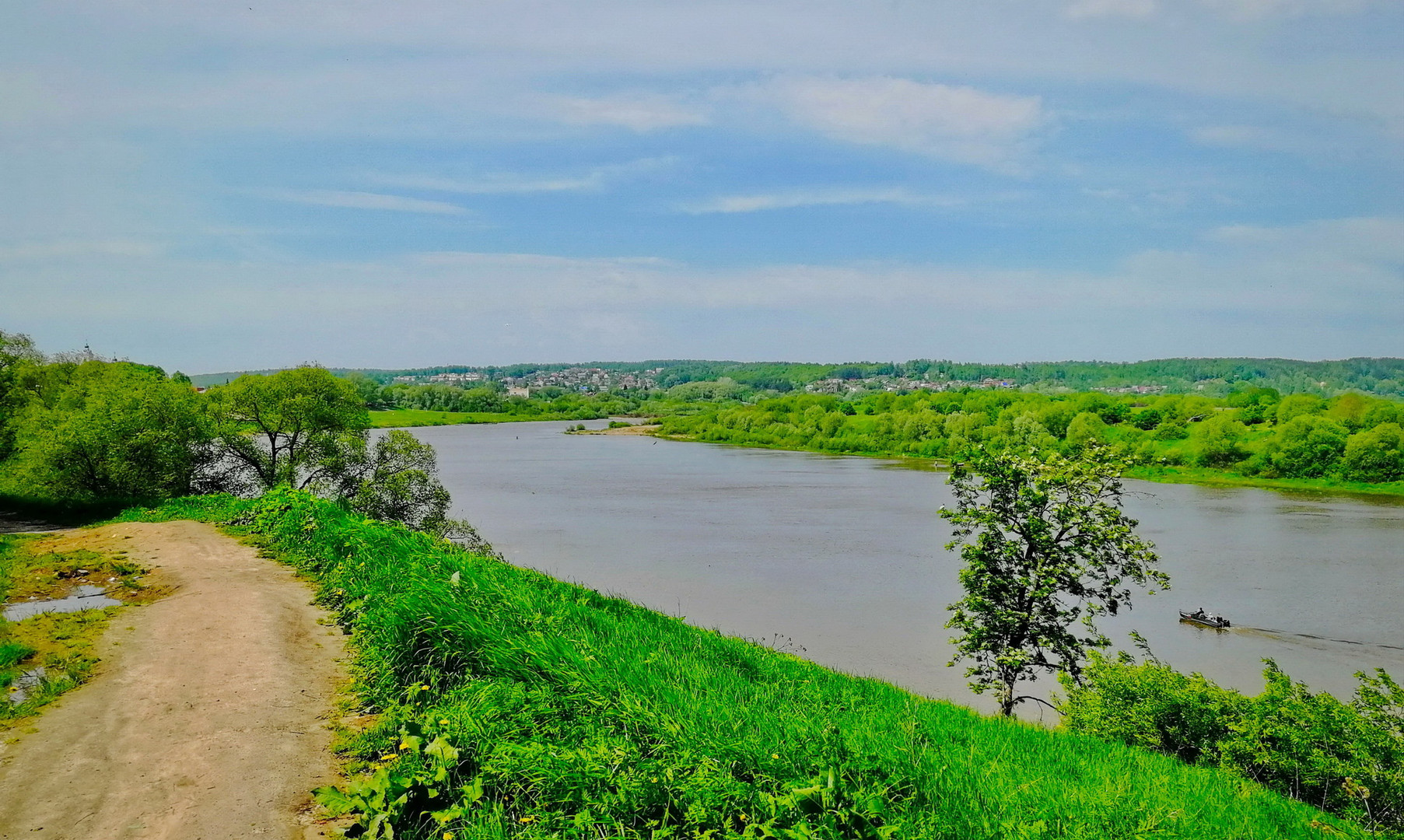 пейзажи реки Оки около Тарусы