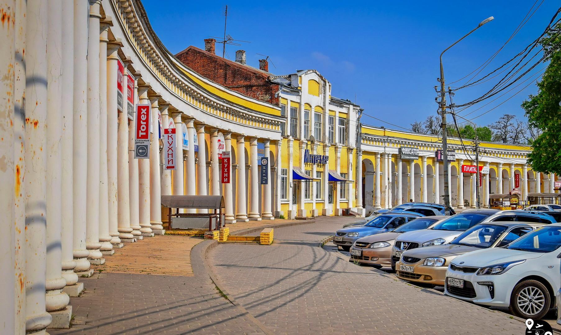 Торговые ряды, Таганрог