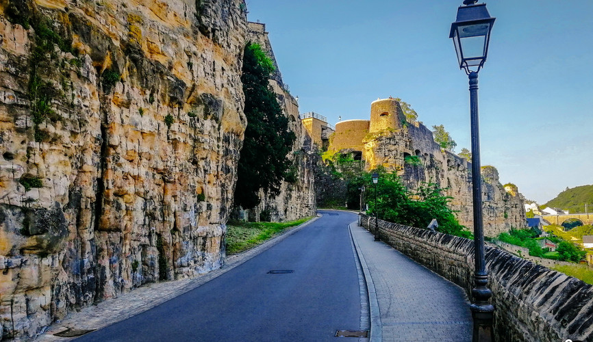 Стены крепости Люксембург