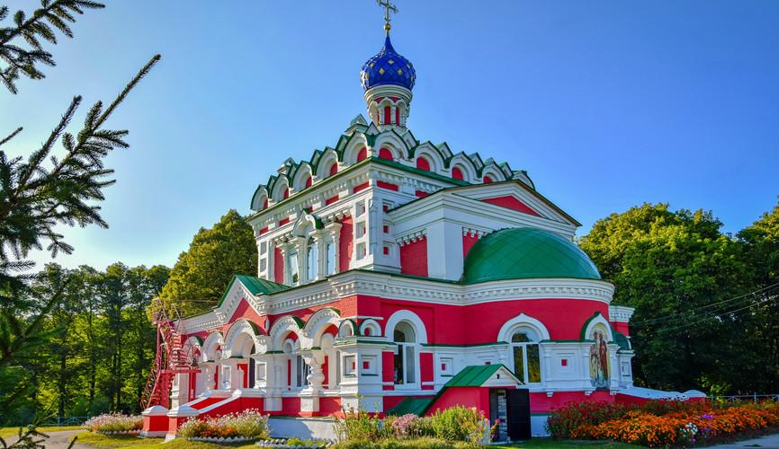 Петропавловская церковь, Старожилово