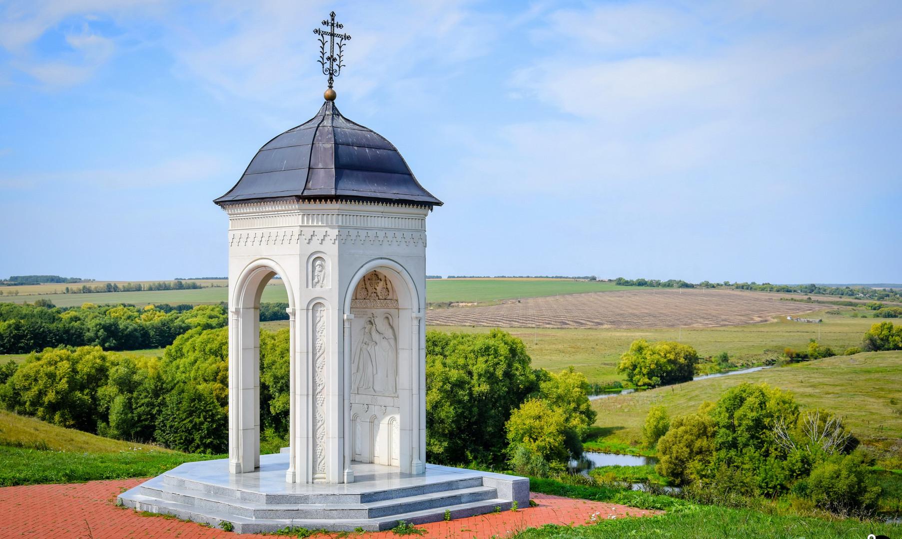 Часовня Сергия Радонежского в Монастырщине