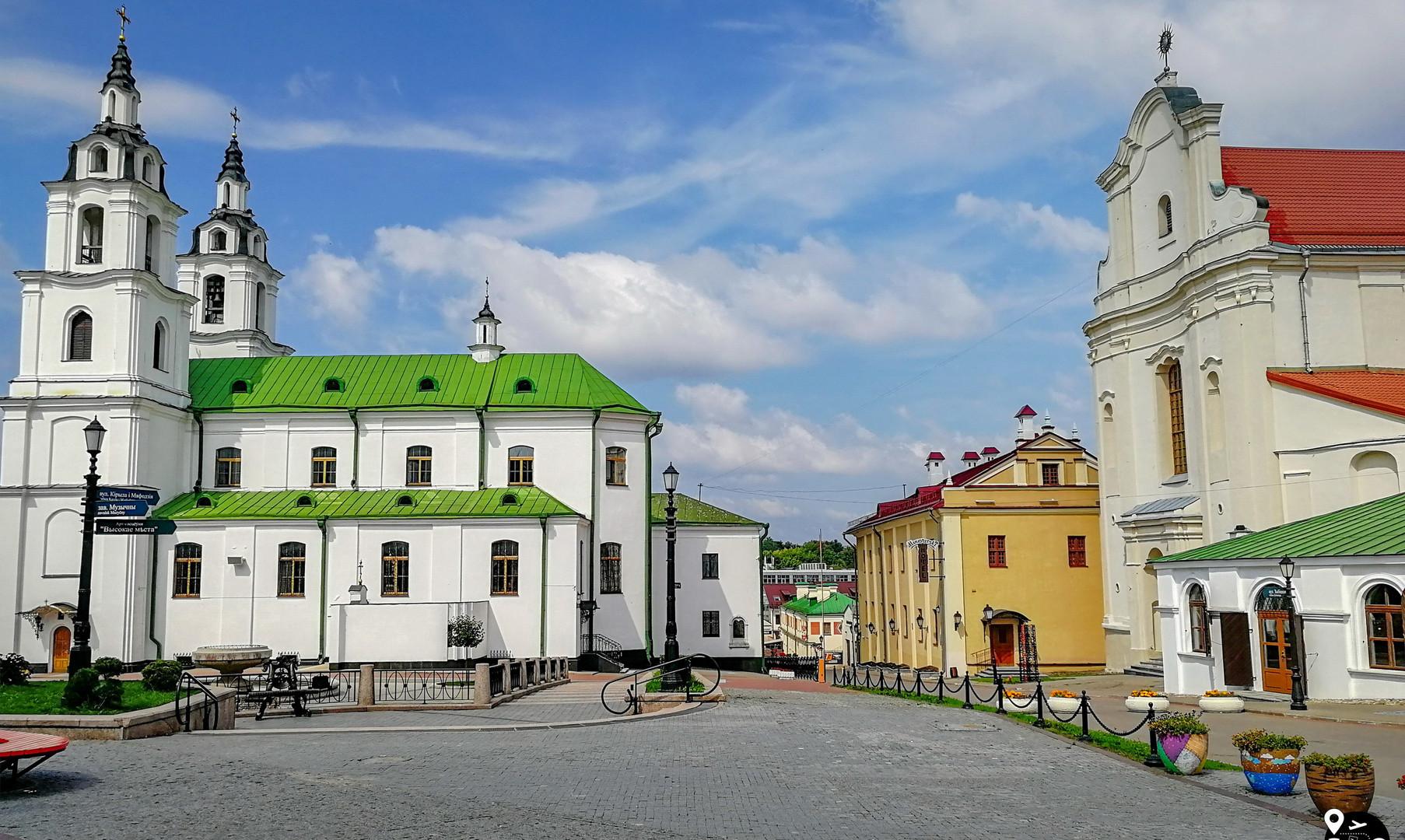 Соборная площадь, Минск