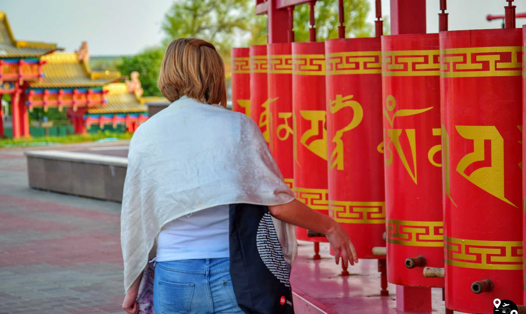 Буддийские барабаны в Золотой обители, Элиста