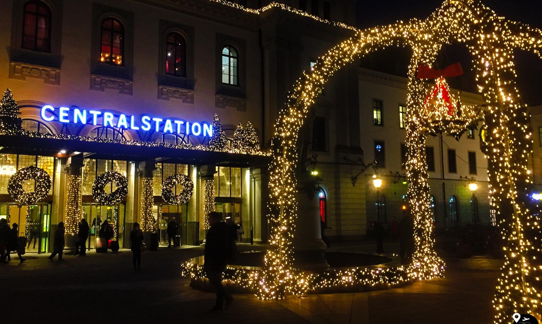 Ж/д вокзал Стокгольма