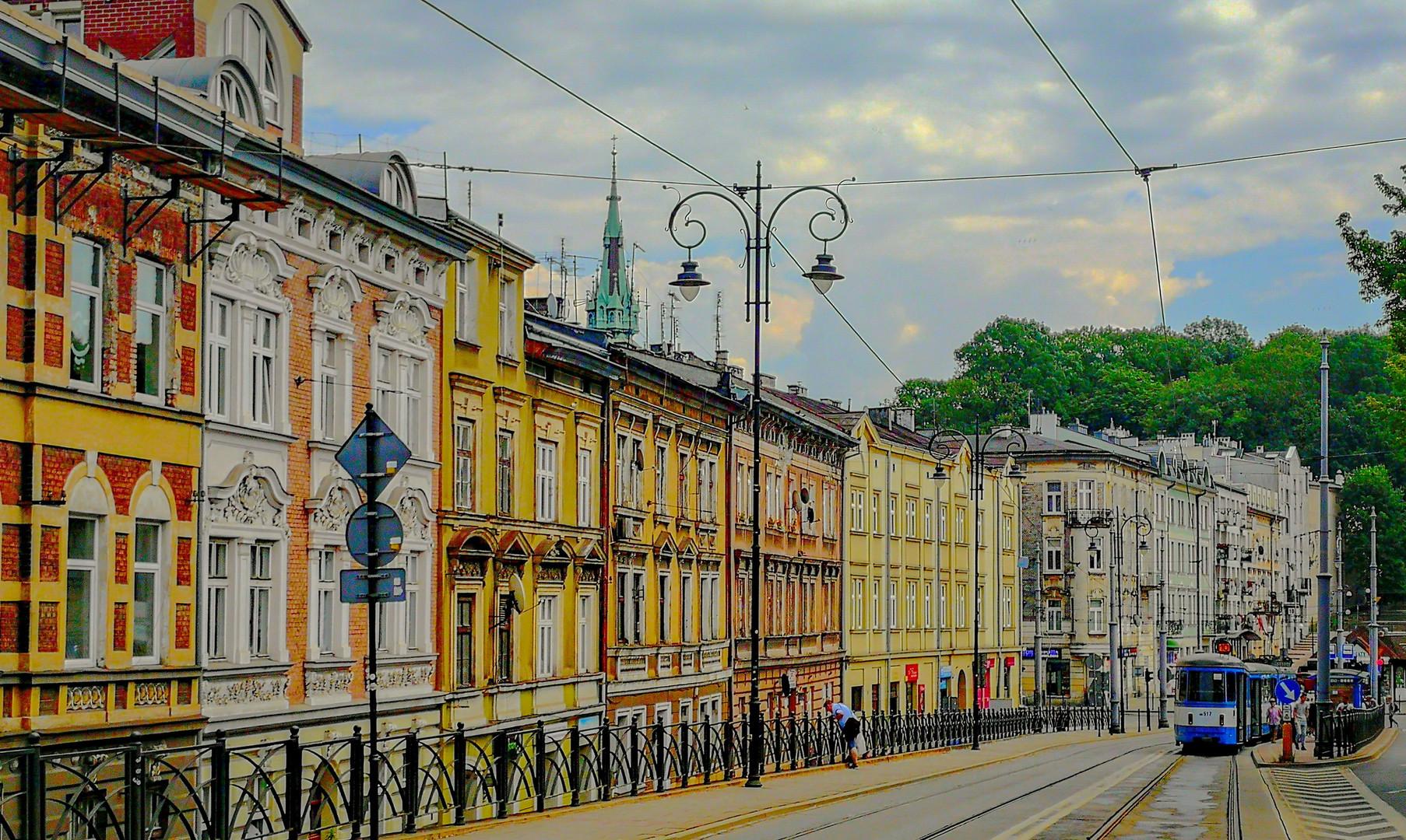 Район Казимеж в Кракове