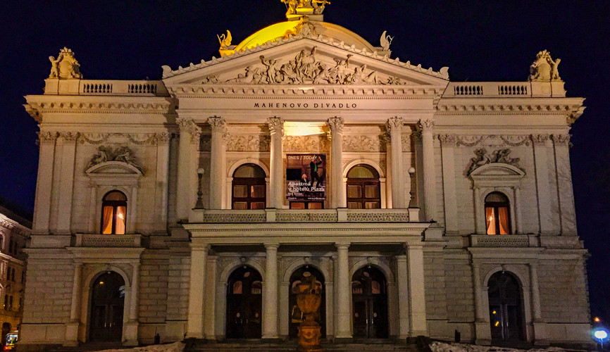 Народный театр в Брно