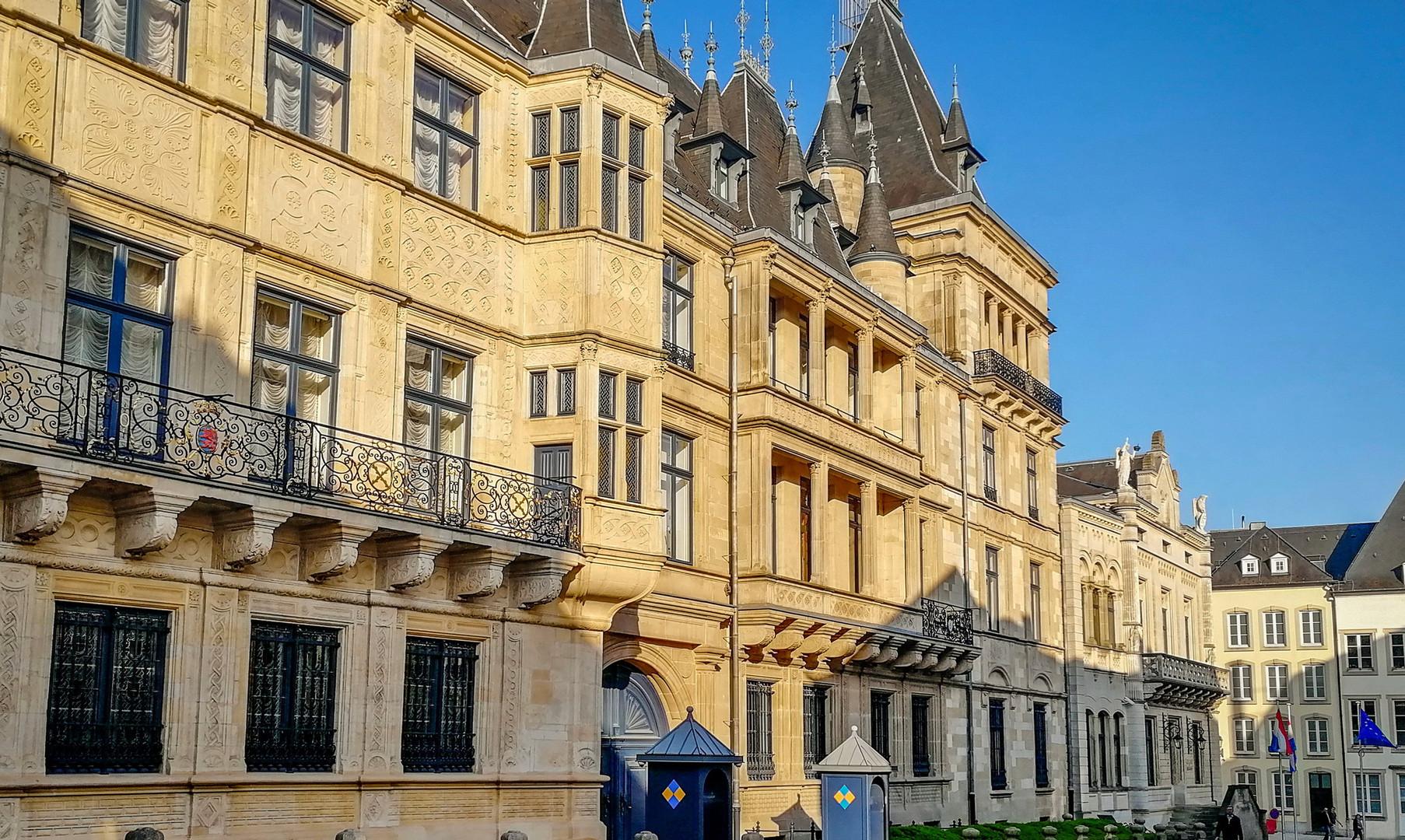 Дворец великих герцогов, Люксембург