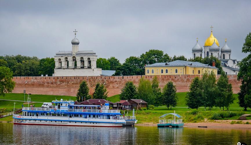 Панорама Новгородского кремля, Великий Новгород