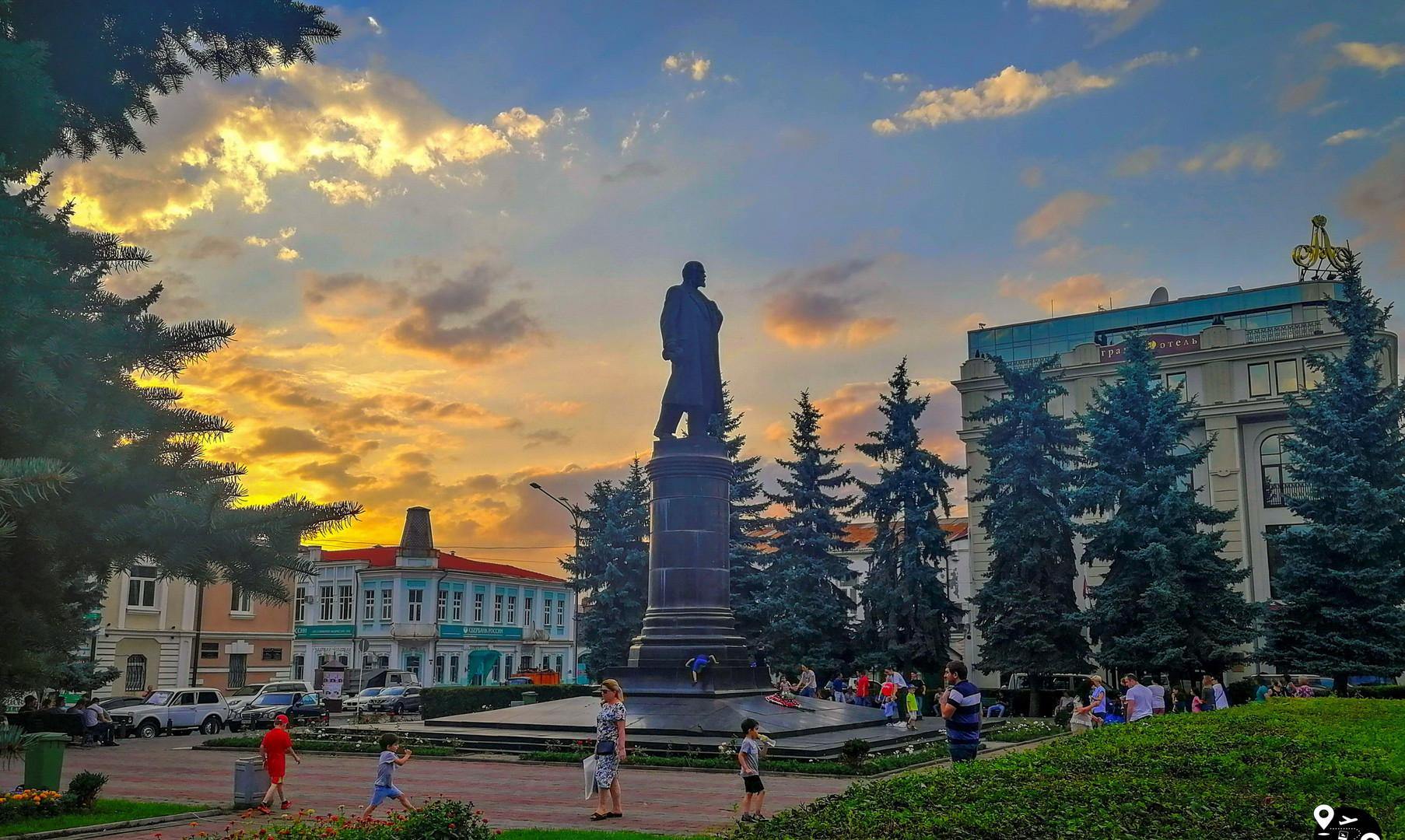 Площадь Ленина, Владикавказ