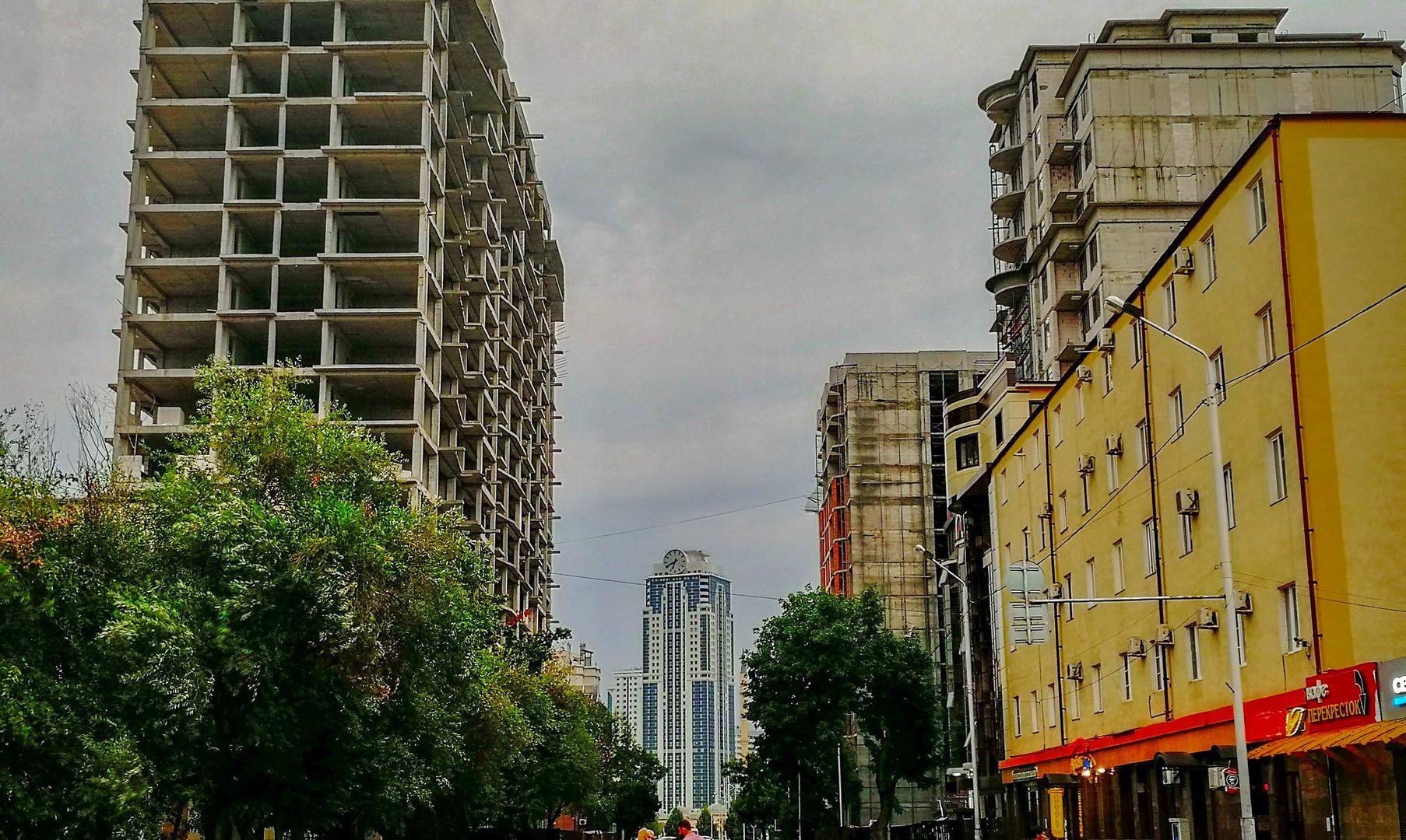 Новые кварталы, Грозный