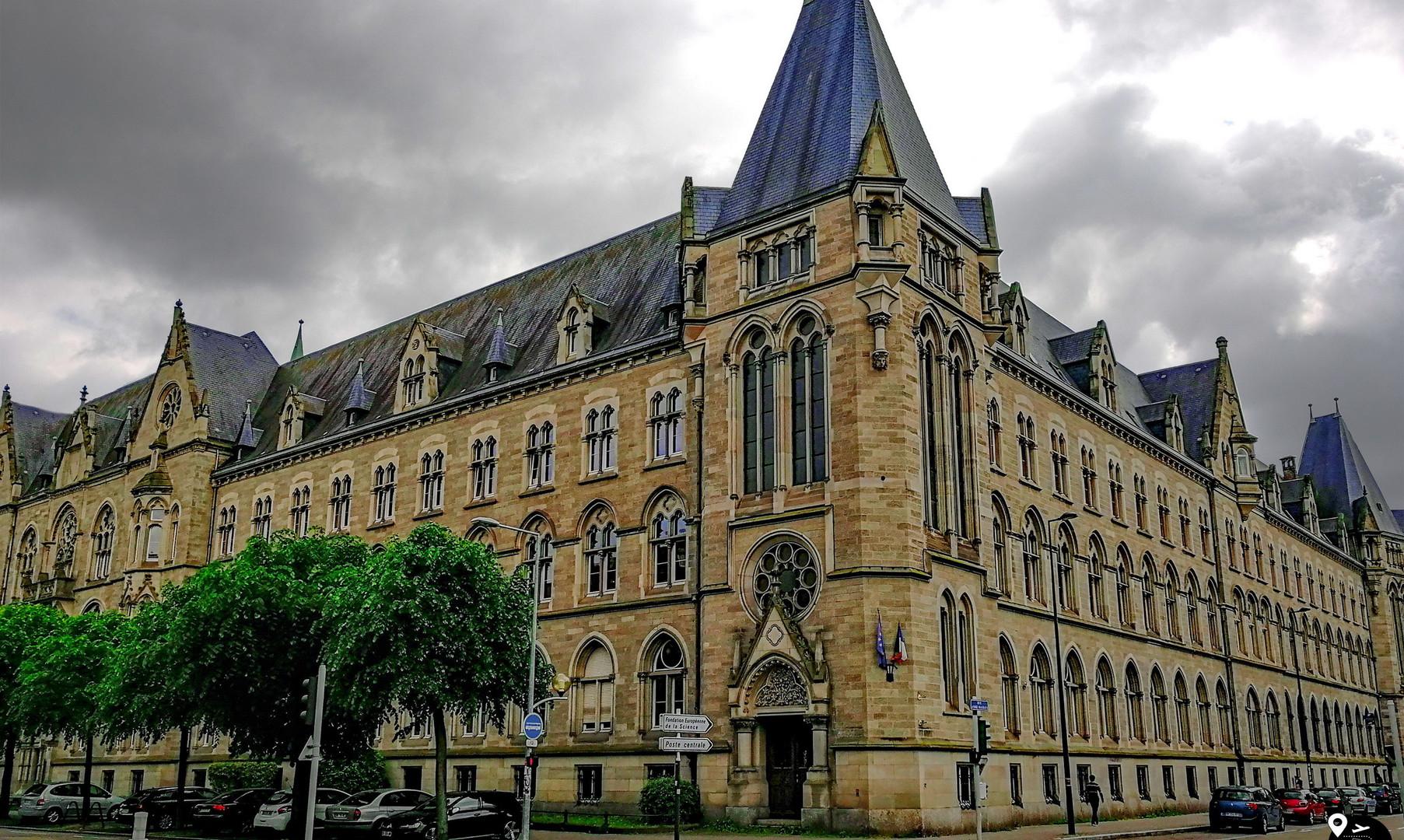 Центр города Страсбург