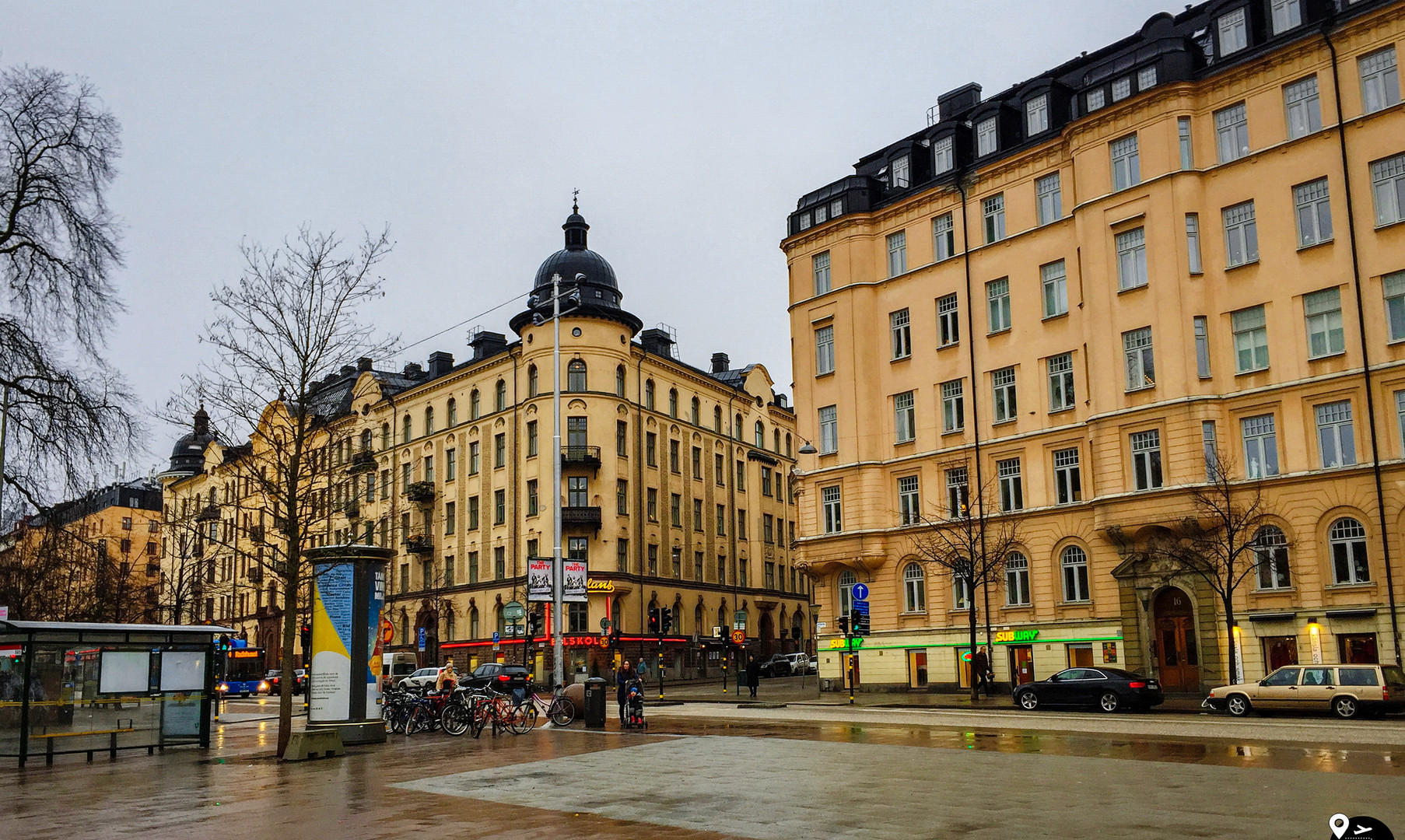 Площадь Оденплан, Стокгольм