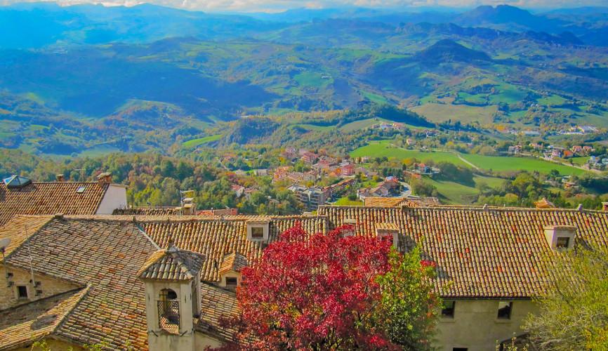 Пейзажи Сан-Марино