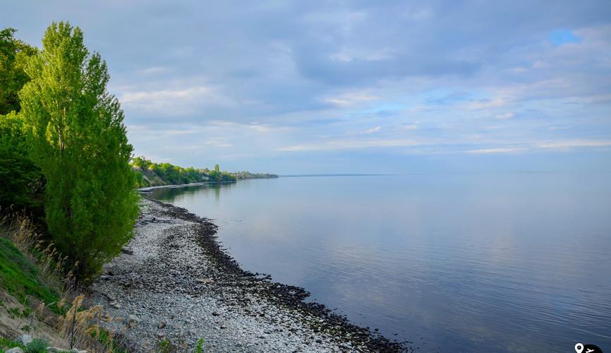 Пейзажи реки Волги