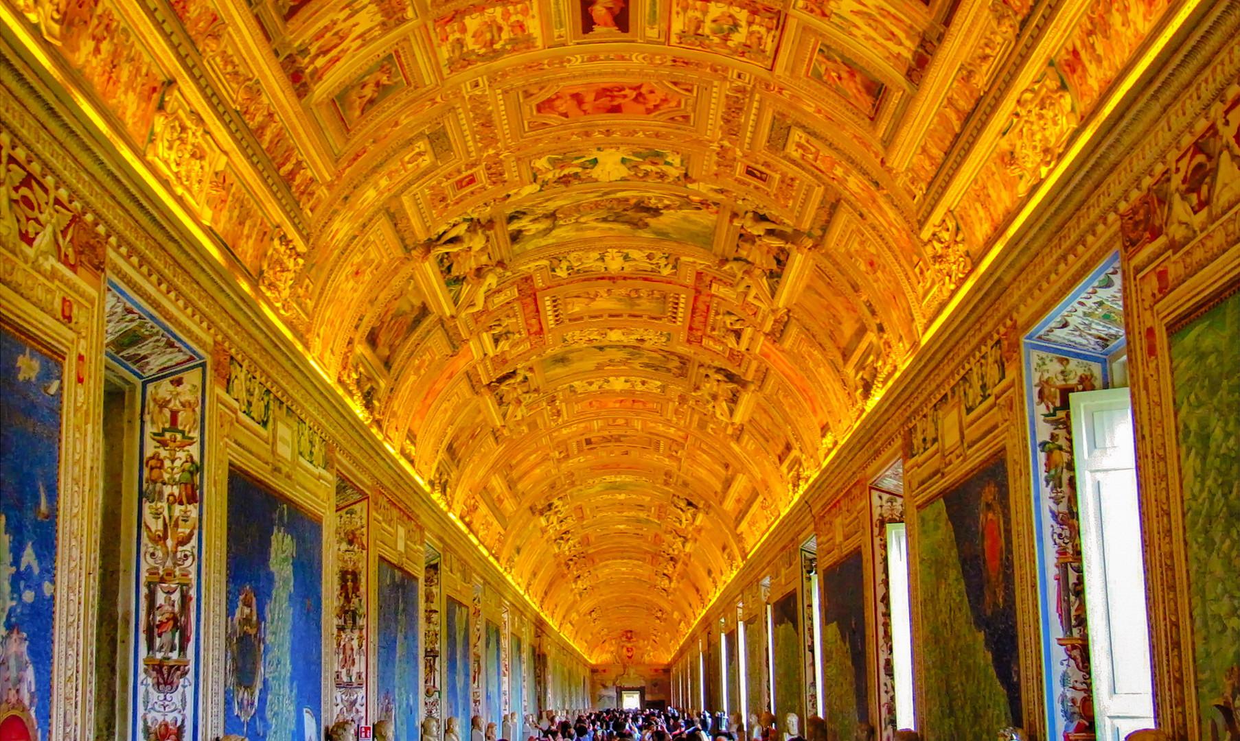 Галерея географии в музеях Ватикана