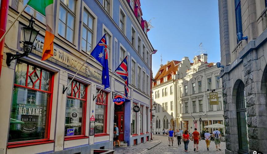 Центр города Таллин