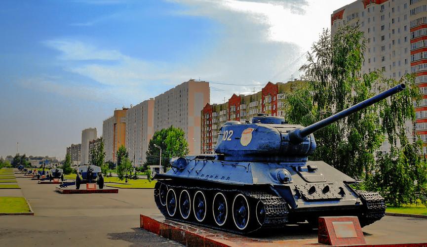 """Мемориальный комплекс """"Курская дуга"""", Курск"""