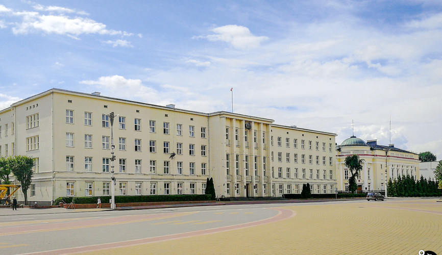 Площадь Ленина в Бресте