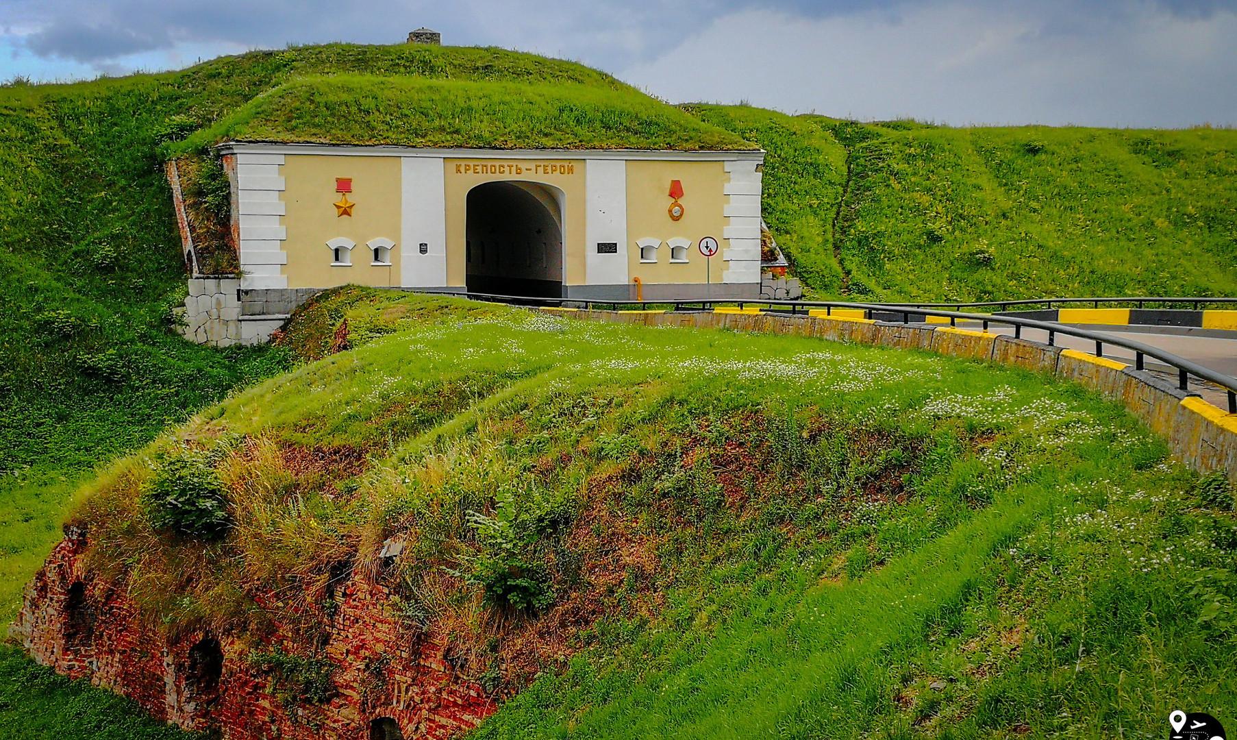 Северные ворота Брестской крепости, Брест