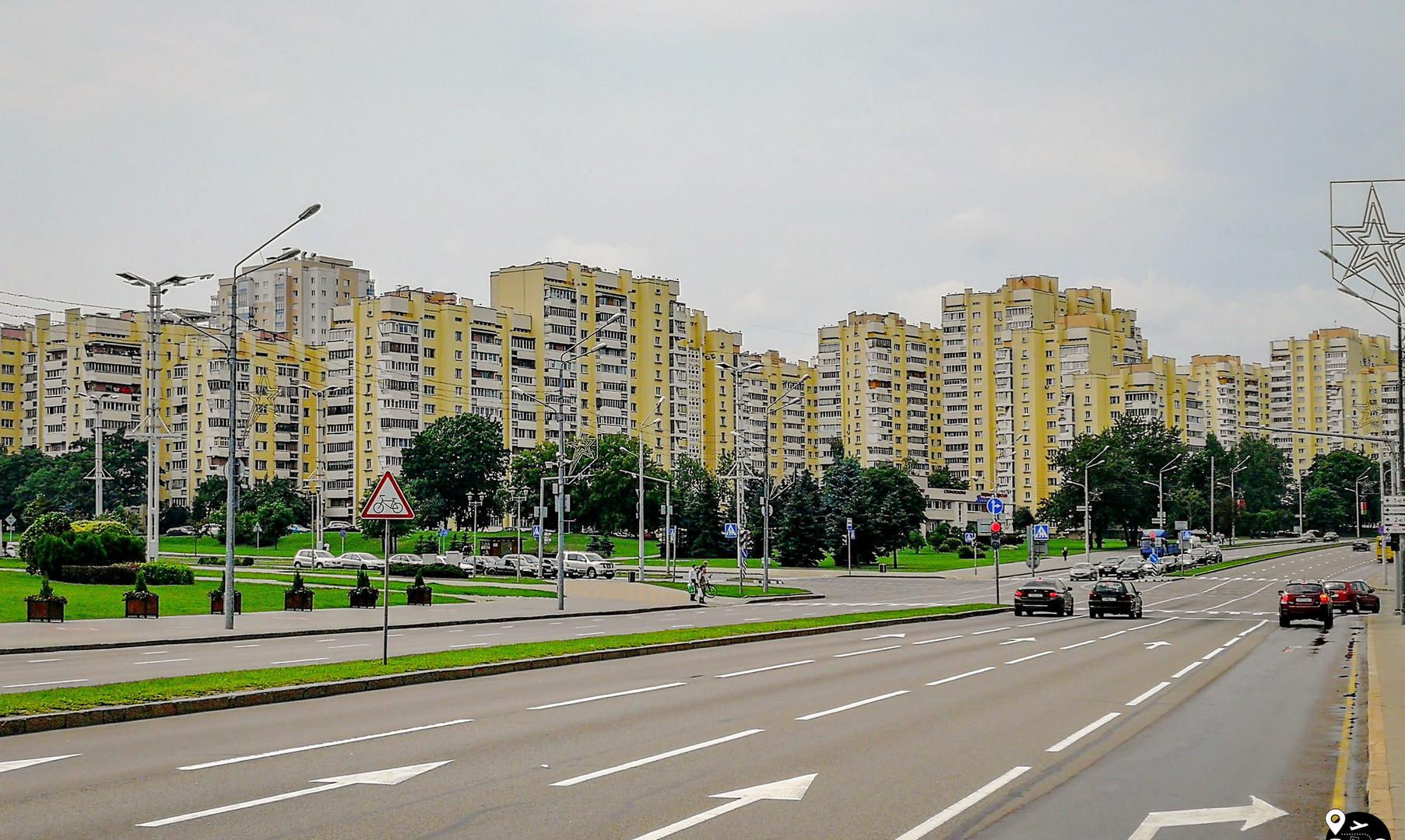 Жилые кварталы Минска