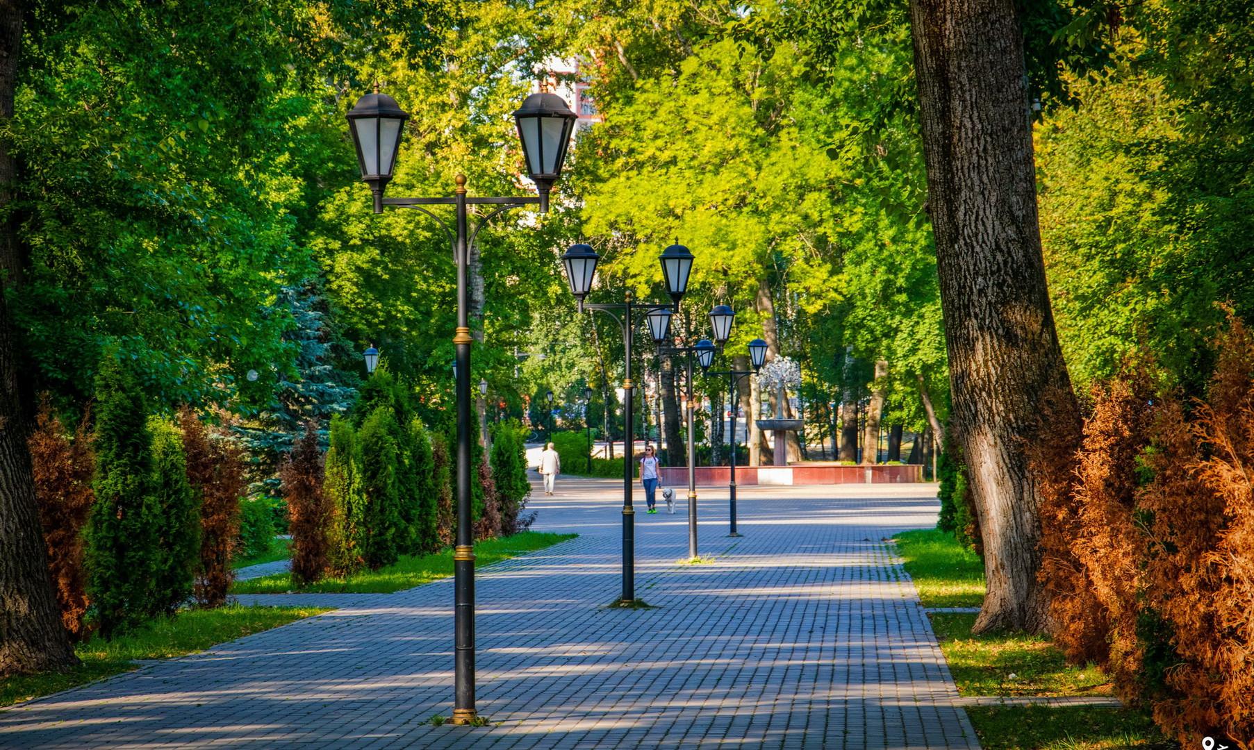 Нижний парк, Липецк