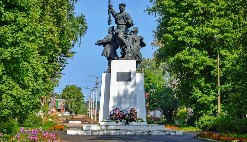 Мемориал ВОВ в Осташкове
