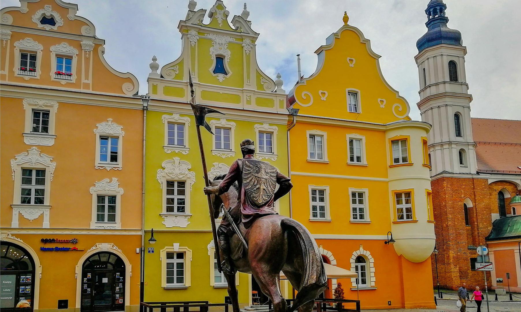 Ратушная площадь в Ополе