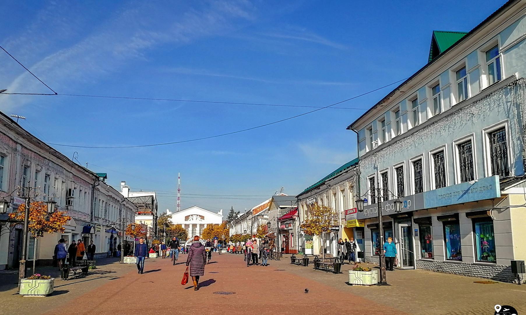 Театральная улица, Калуга