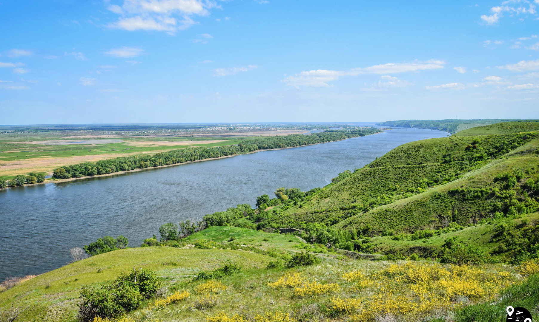 Пейзажи реки Дон