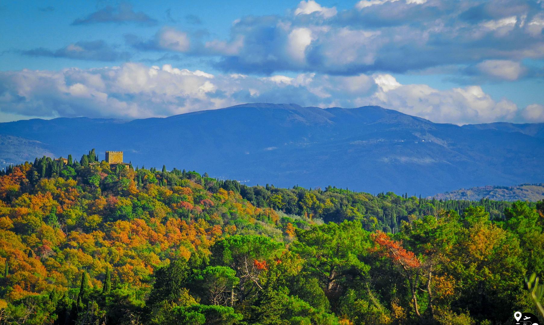 Осенние пейзажи Тосканы