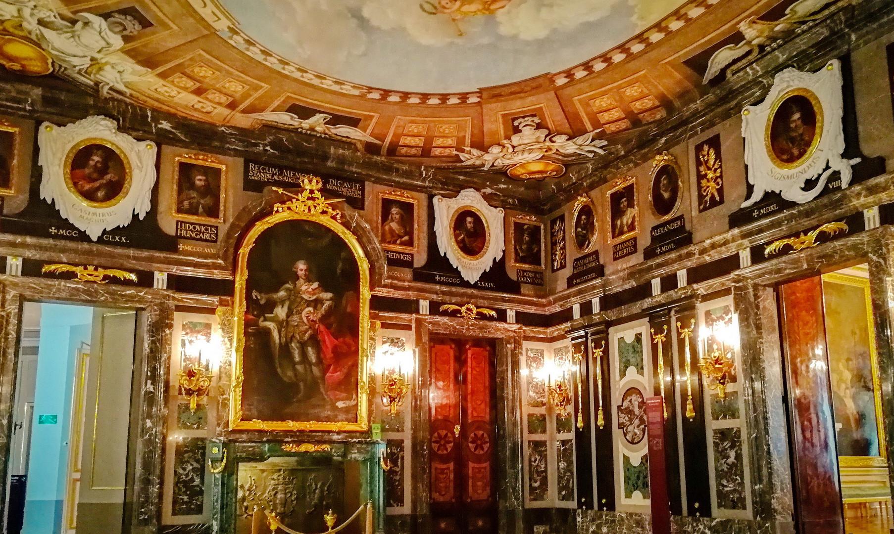 Королевский дворец в Варшаве
