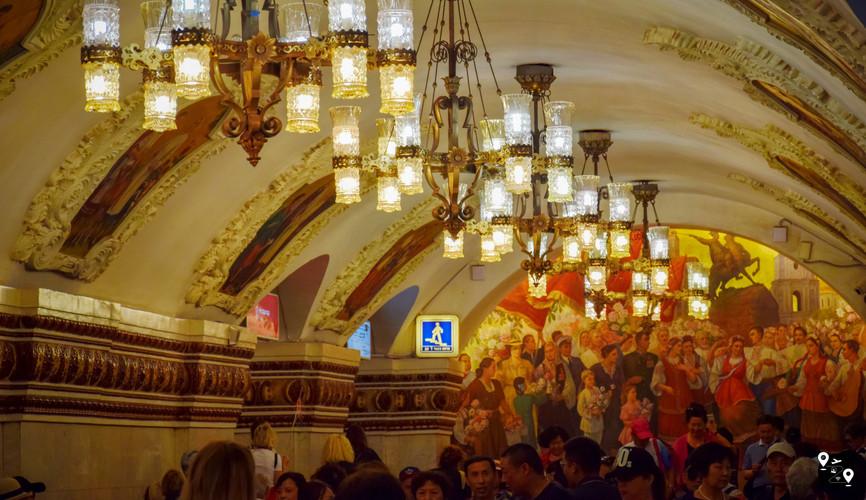 Московское метро (ст. Киевская)