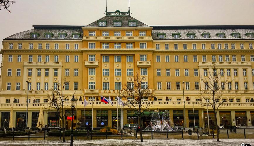 """Отель """"Карлтон"""" в Братиславе"""
