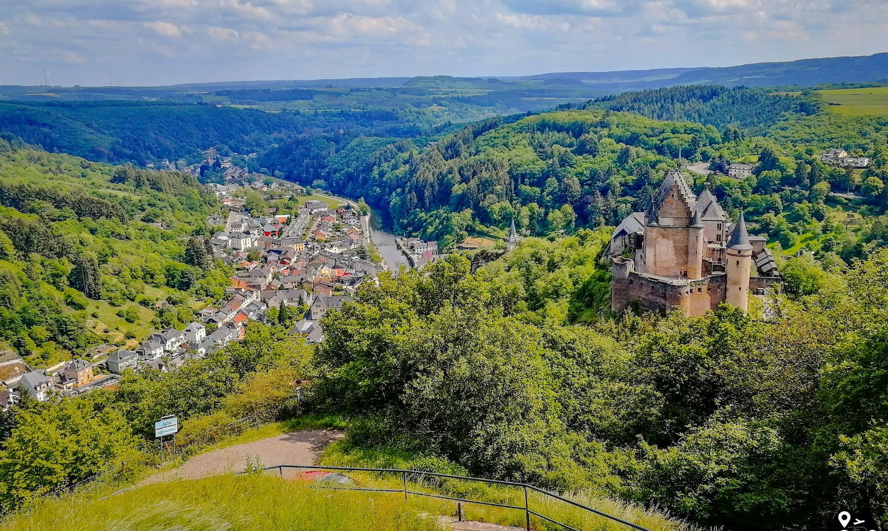 Панорама Виандена с замком