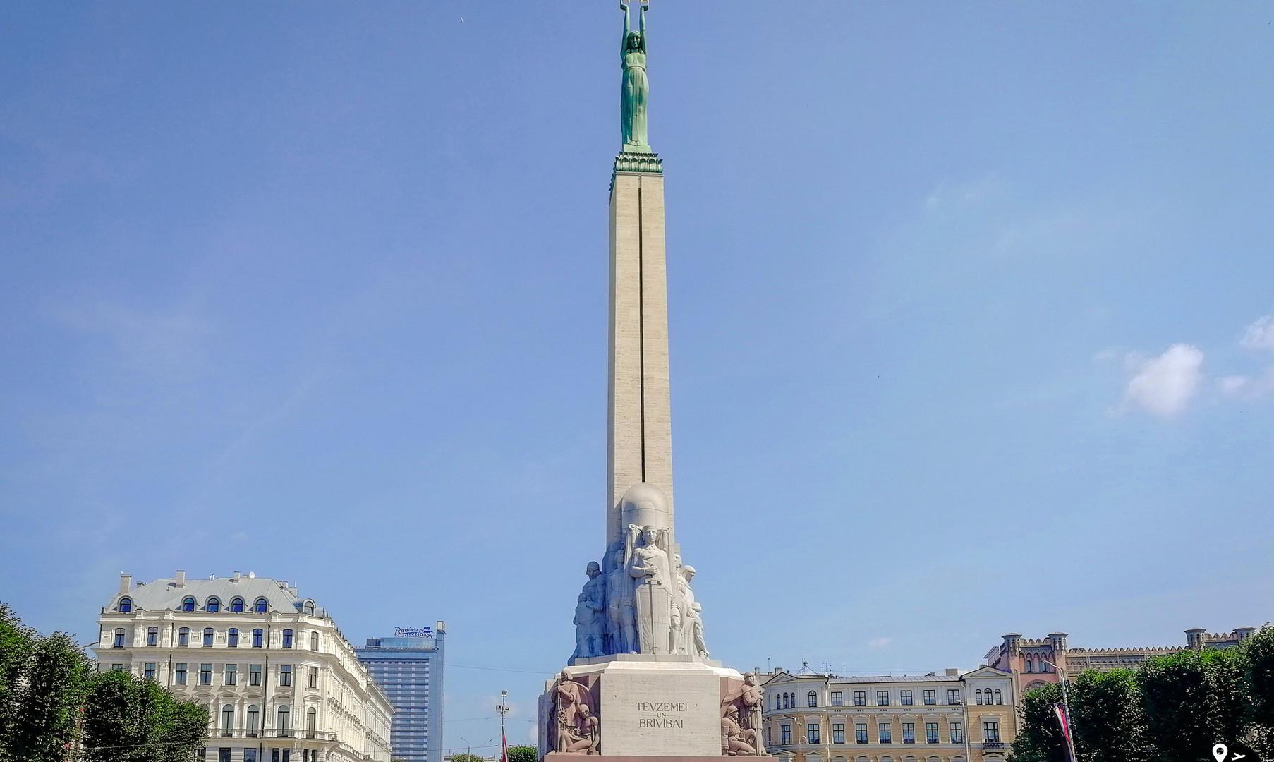 Памятник Свободы, Рига
