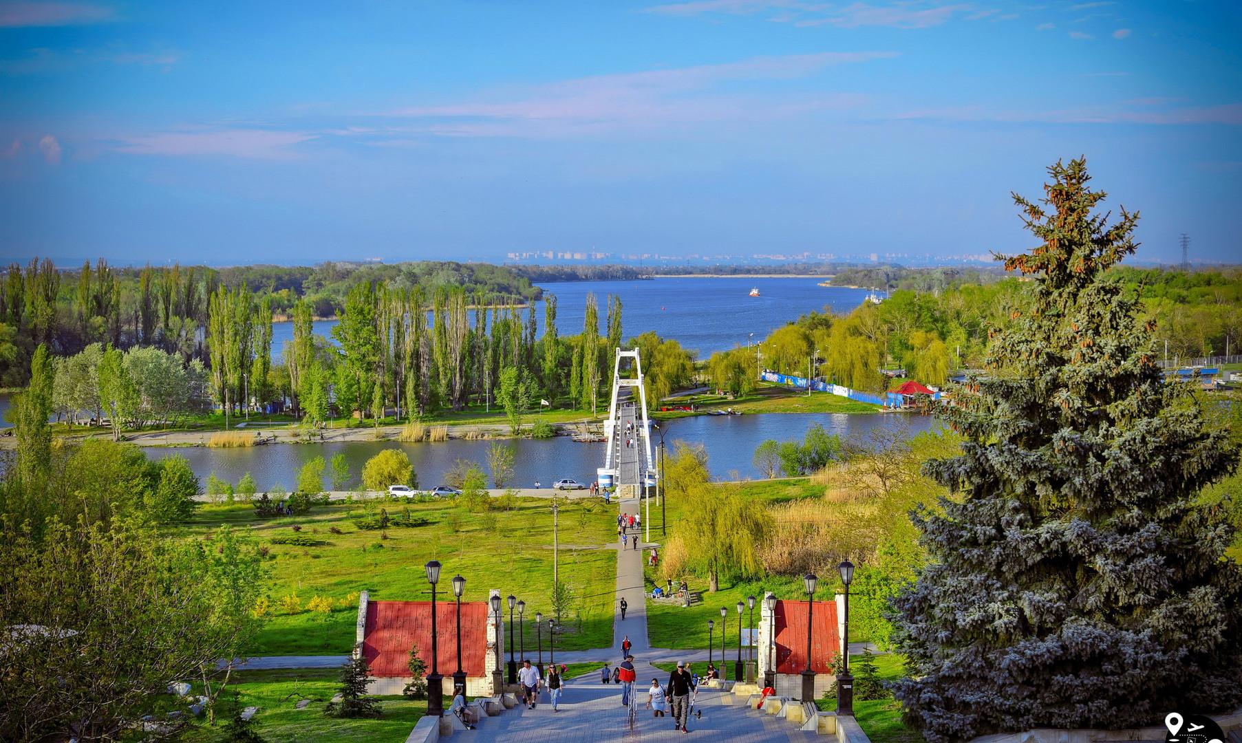 Панорама реки Дон, Азов