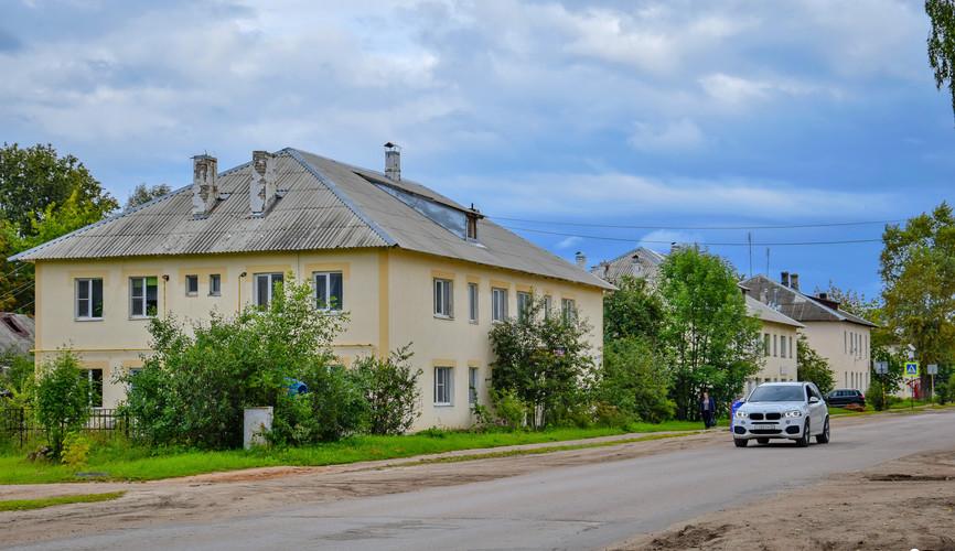 Старый город Калязина