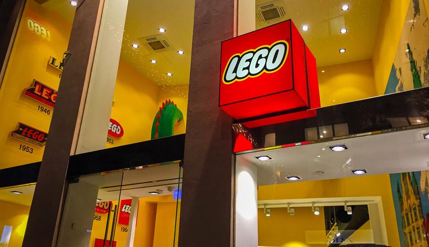 Первый магазин Lego, Копенгаген