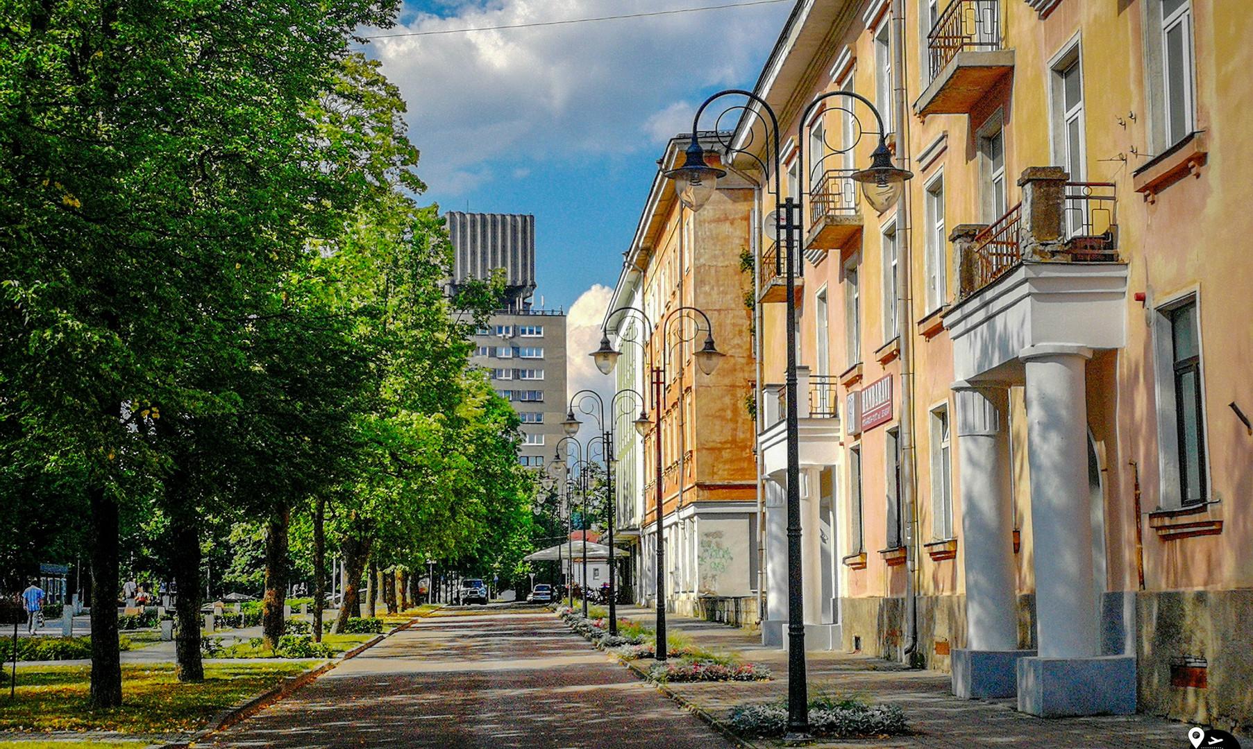 Улицы Нарвы