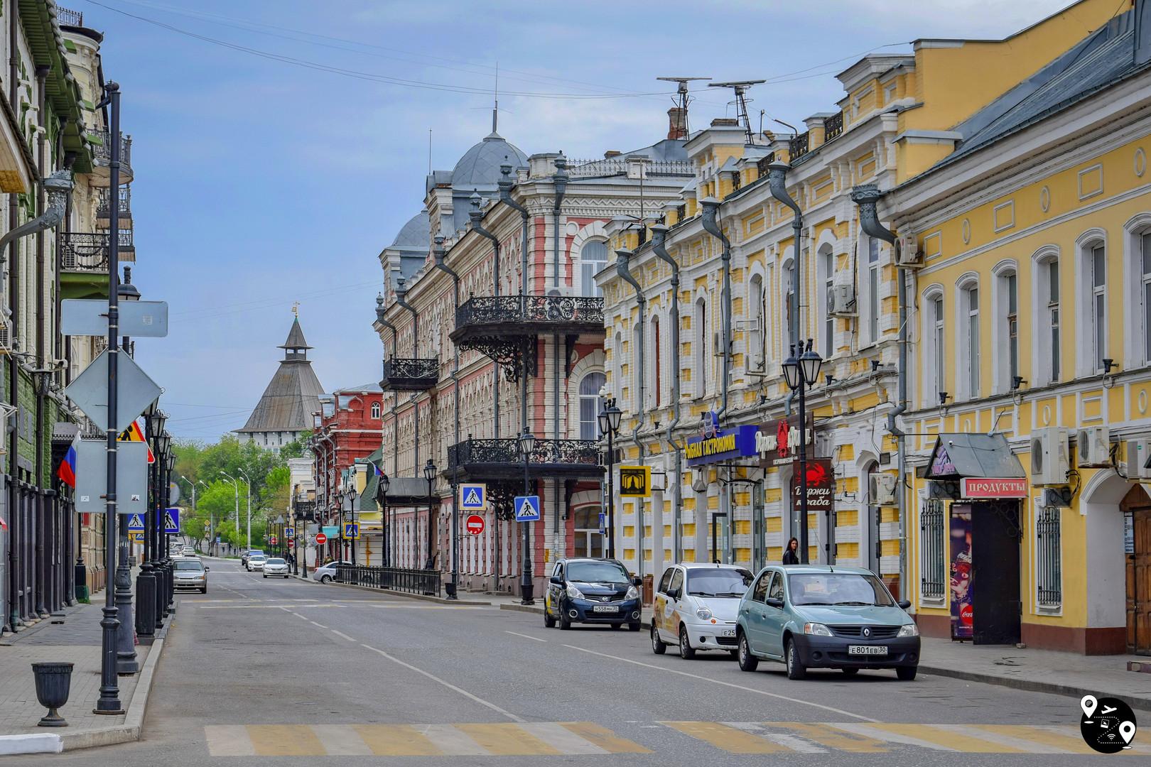 Исторический центр Астрахани