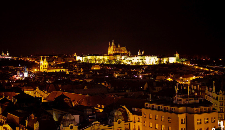 Панорама Пражского Града, Прага