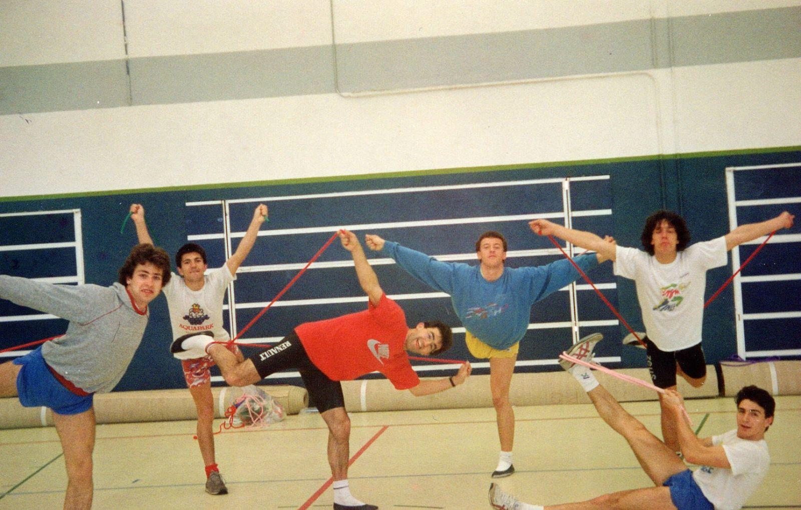clase gimnasia