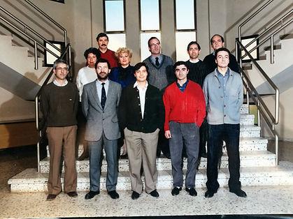 Equipo profesres y PAS 1987