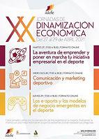 XX Jornadas de dinamización económica -