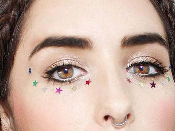 Starry-Eyed Festival Makeup