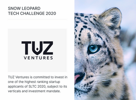 TUZ will invest in the best startup of Snow Leopard Tech Challenge 2020