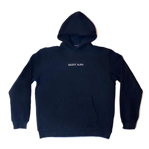 Winter Essential Black Hoodie