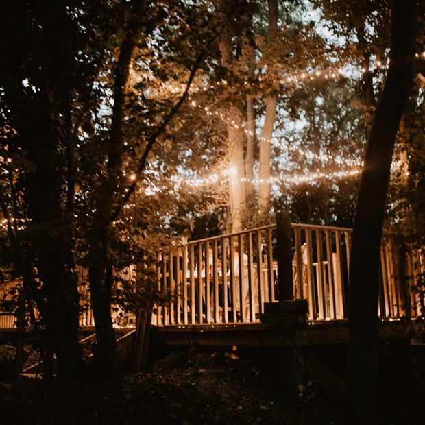 Upthorpe Wood nighttime